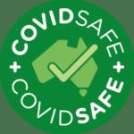 Covid Safe Logo for TMTR